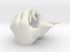 SH Figuarts Hand Gestures. Super Saiyan Vegeta Sup 3d printed