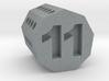 d11 Nonagonal Prism (spin̈al tap novelty die) 3d printed