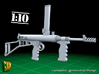 Owen submachine gun (1:10) 3d printed Owen submachine gun 1:10 - set of 2