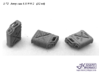 1/72 Jerry Can US WW2 (32 set) 3d printed