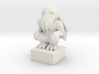 "Cthulhu On Pedestal 2"" Tall 3d printed"