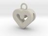 Resonant Heart Keychain 3d printed