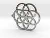 Seed Of Life Pedant 3d printed