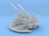 Quad Bofors Elevated, with Loader Platform 1/144 3d printed