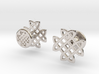 CELTIC KNOT CUFFLINKS 3d printed