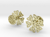 CELTIC KNOT CUFFLINKS 021116 3d printed