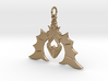 Batty For You Earring/Pendant (Single Unit) 3d printed