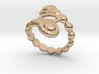 Spiral Bubbles Ring 24 - Italian Size 24 3d printed