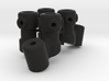 M3R16 Angled Scratchbar Mounts 3d printed
