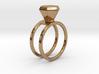 Diamond ring - Size 11 / 20.6 mm 3d printed