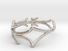 Lucifer Smile Ring (Size 4.5--14.8mm dia)R S1 0103 3d printed