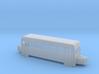 O9/On18 rail bus bogie (short) 3d printed