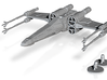 T-65 X-Wing - Closed Wings- 1/270 3d printed