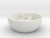 Yin Yang vessel 3d printed