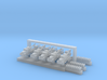 1:700 Scale WWII Airfield Accessories 3d printed