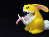 Monster Bunny #3 - Small Eyes 3d printed Test print at size listed