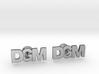 Monogram Cufflinks DGM 3d printed