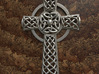 Celtic Cross 3d printed Traditional Celtic Cross