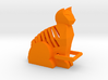 Cat Key Ring 3d printed You wanted a ginger cat :)