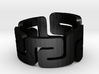 MeandeRing Men Ring [Multiple Sizes] 3d printed