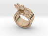 Love Forever Ring 18 - Italian Size 18 3d printed
