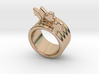 Love Forever Ring 22 - Italian Size 22 3d printed