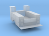 Maintenance Truck Bed Details Detached 1-87 HO Sca 3d printed