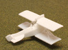 Brandenburg D.I (Early Rudder) 3d printed 1:144 Brandenburg D.I print