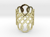 Celtic Knot Ring Size 7 3d printed