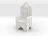 Gothic Chair Type 2 3d printed