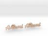 Custom Name Cufflinks - Avrumi 3d printed