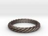 Rope Ring 3d printed