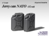 1/72 Jerry can NATO (32 set) 3d printed