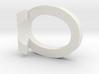 10 3D Monogram Pendant 3d printed