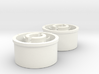 Kyosho Mini-Z Rear wheel with +1 Offset 3d printed