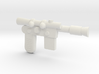 Han Blaster Full Size - (Right Half Only) 3d printed
