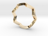 zig zag ring 3d printed