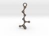 D-Methionine Molecule Necklace Earring 3d printed