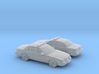1/160 2X 1998-11 Ford Crown Victoria Police Cruise 3d printed