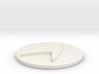 Starfleet Epaulet Button 3d printed