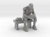 Robot Reading Book 3d printed