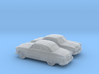 1/160 2X 1949 Ford  Fordor Coupe 3d printed