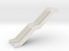 N Scale Station Stairs H50mm 3d printed