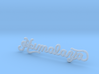 Wisdom Himalaya Sign 1/87th Ho Scale Carnival  3d printed