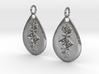 Sigil of the Cosmos earrings 3d printed