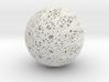 Epicycloid Sphere, 12 cusps 3d printed