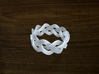 Turk's Head Knot Ring 3 Part X 10 Bight - Size 11 3d printed