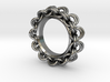 Chainmail Ring Pendant 3d printed
