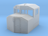 HO-Scale Canadian Comfort Cab v.3a (2016 Update) 3d printed