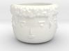 4 Face Plant Pot 3d printed